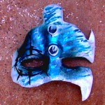 Eye of Water - Paper Mache
