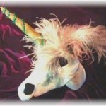 Enchanted Unicorn - Buckram, Foam, and Boa