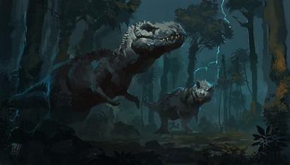 Dinosaur Stalking